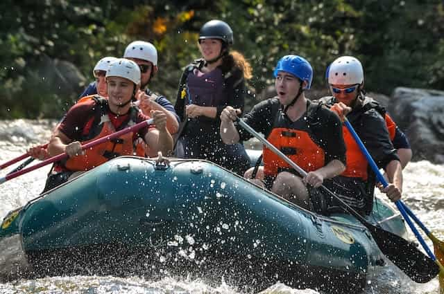 Kennebec River Maine Whitewater Rafting