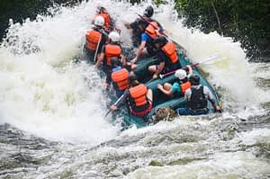 Kennebec Huge Water Rafting Trip