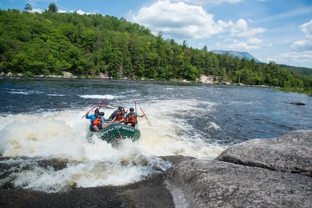 Penobscot River Maine Whitewater Rafting