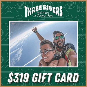 $319 Jump and Raft Gift Card