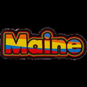 Sticker Colorful Maine-min