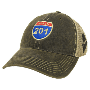 Route 201 Trucker Hat - University of Massachusetts Boston