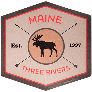 Moose Hex TRW Sticker