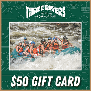 $50 Rafting Gift Card