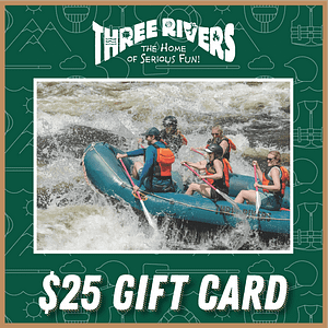 $25 Rafting Gift Card