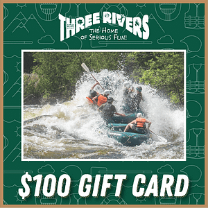 $100 Rafting Gift Card