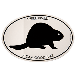 Dam Good Time Sticker