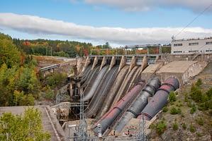 Harris Station Dam