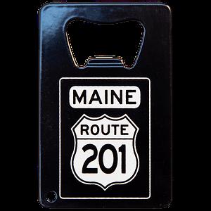 Route 201 Bottle Opener Magnet
