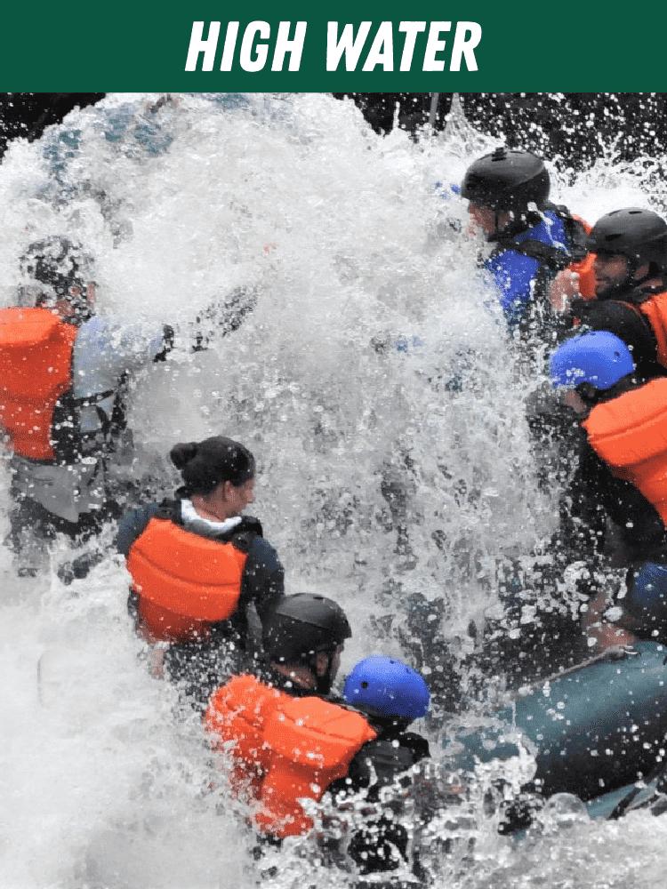 High Water Rafting Maine