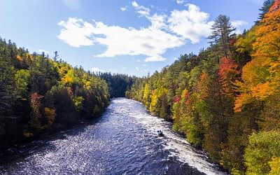 Fall Rafting in Maine