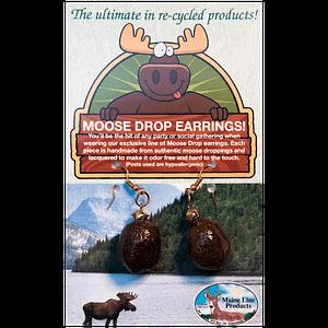 Moose Drop Earrings