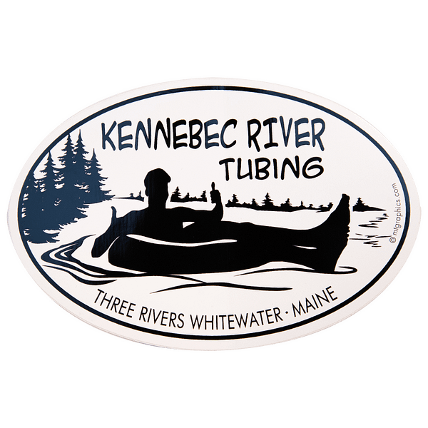 Kennebec River Tubing Stickers