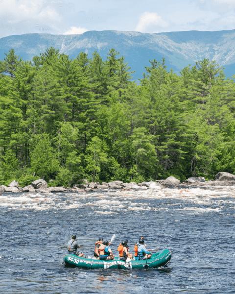 Rafting Maine