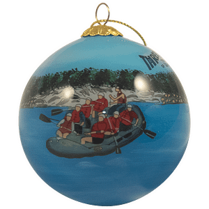 Three Rivers Hand Painted Ornaments
