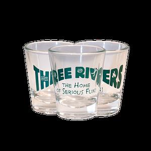 Three Rivers Whitewater Shot Glass