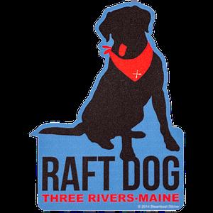 Raft Dog Mini Sticker