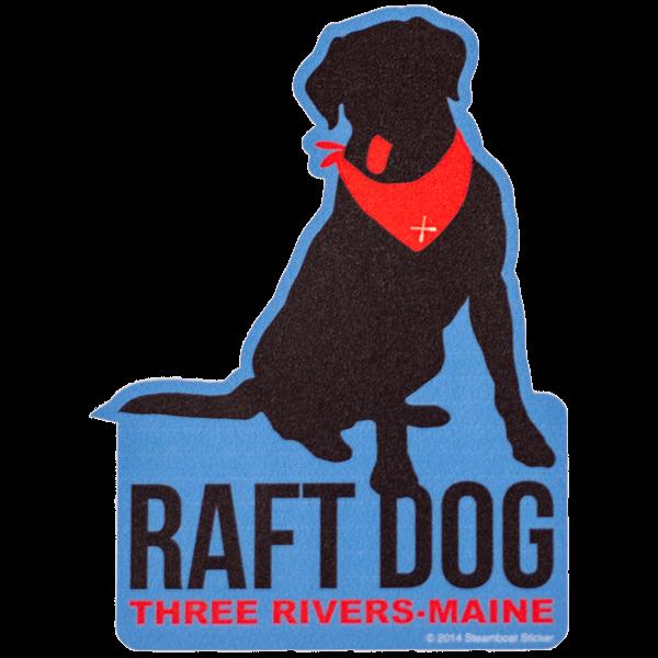 Raft Dog Sticker