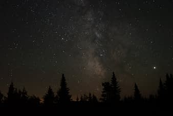 Milky Way Stars The Forks