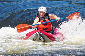 Seboomook River Inflatable Kayak Trip