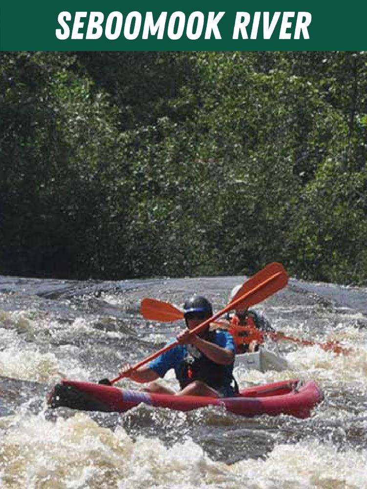 Seboomook River Rafting