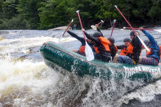 Whitewater Rafting Kennebec Maine
