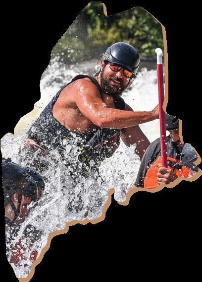 whitewater rafting maine
