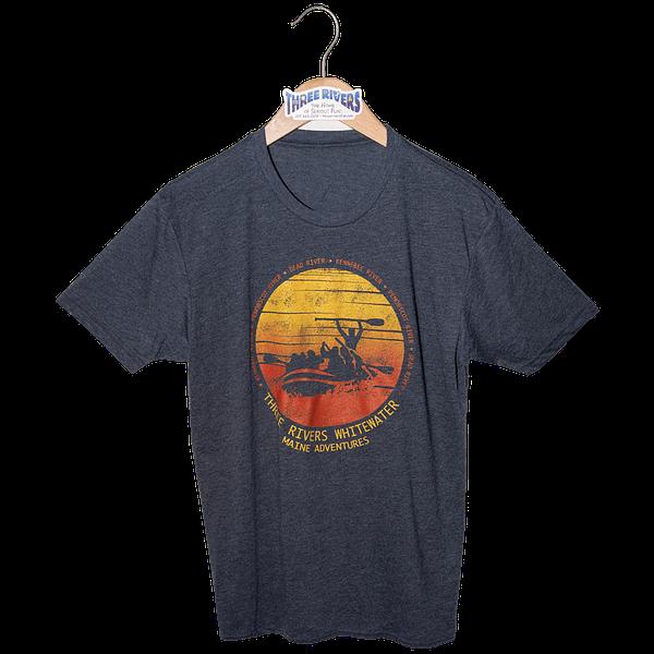 Sunset Raft T-Shirt - T-Shirt