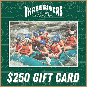 $250 Rafting Gift Card