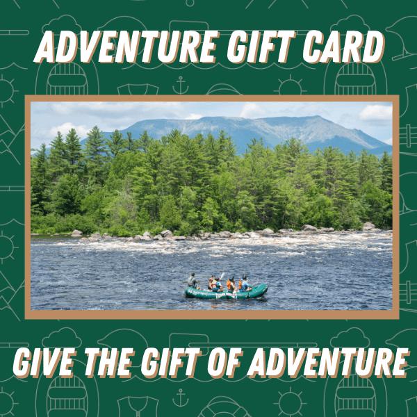 $50 Rafting Gift Card - Penobscot River