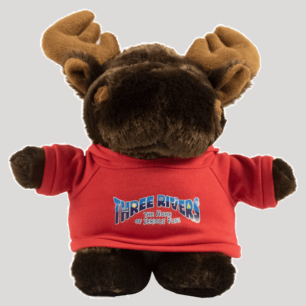 Chubby Bubba Small Stuffed Moose