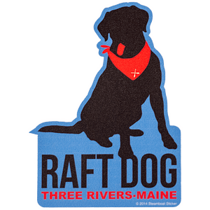 Sticker Raft Dog