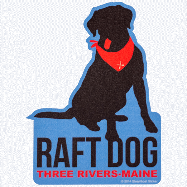 Sticker Raft Dog