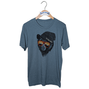 Forks Maine Mountain Bear - T-Shirt