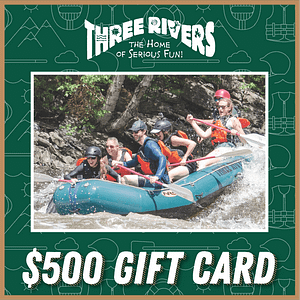 $500 Rafting Gift Card