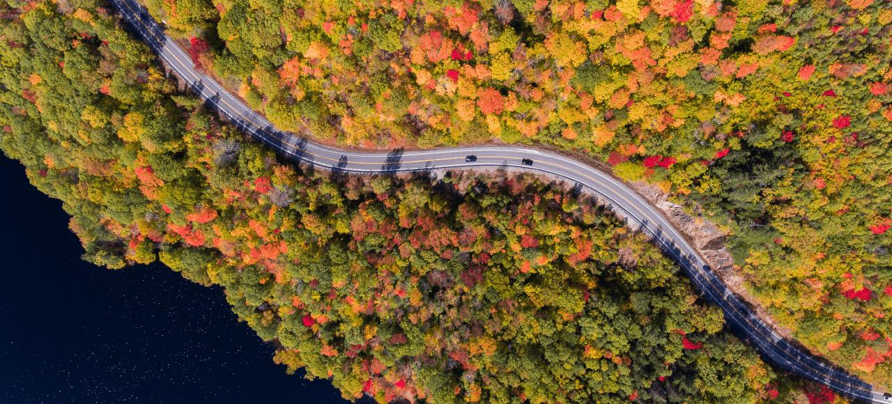 Drone SHot Road